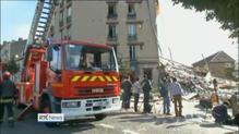 Child killed in Paris building blast