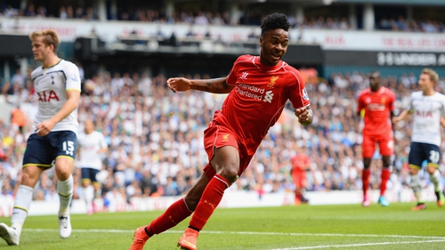 Raheem Sterling was a star performer for the Reds