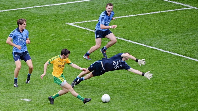 Ryan McHugh's opening goal was a key turning point in Donegal's victory