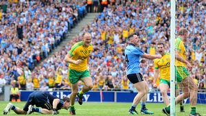 Colm McFadden is on the bench for Donegal