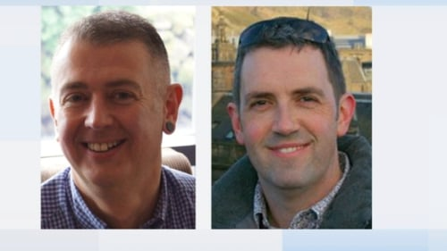 Kevin Devine and John Lynch were on holidays when they drowned off the coast of Crete