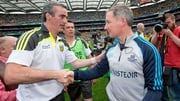 Jim Gavin offers his congratulations to Jim McGuinness