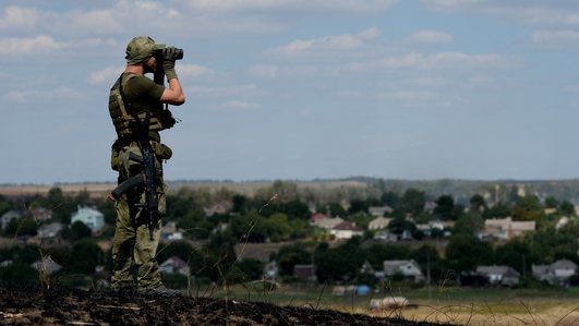 Russia accused of open aggression in Ukraine
