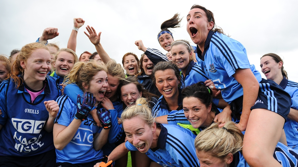 It wasn't all bad news for the Dubs as their ladies team beat Galway to qualify for the All-Ireland final