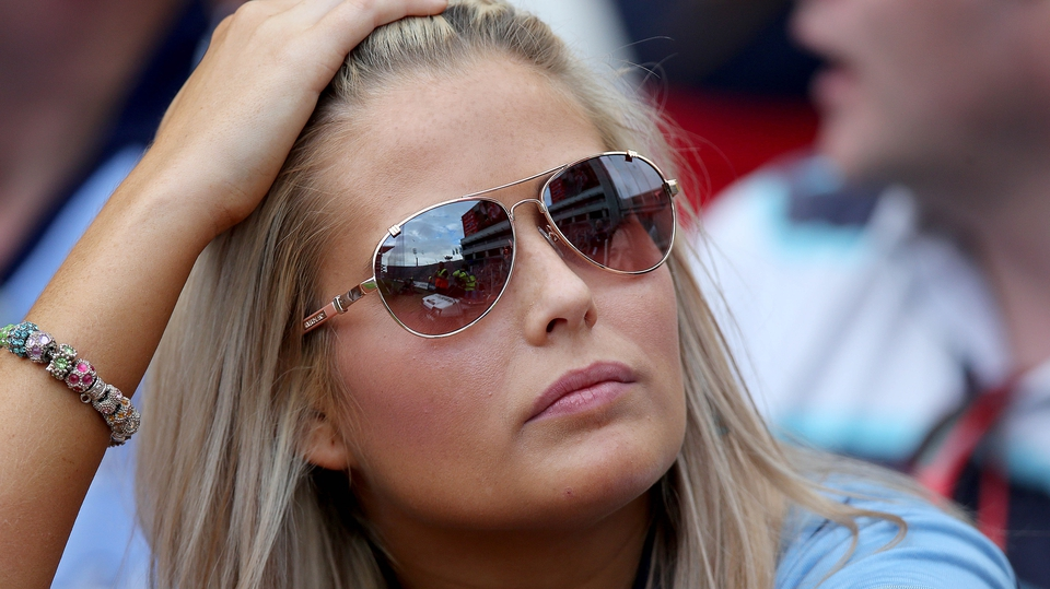 And one of the next generation can hardly believe her eyes as Dublin collapsed in a Croke Park classic