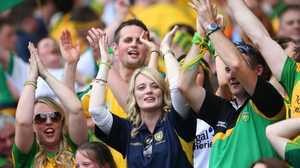 Donegal fans must have been somewhat surprised by their team's stunning performance as well