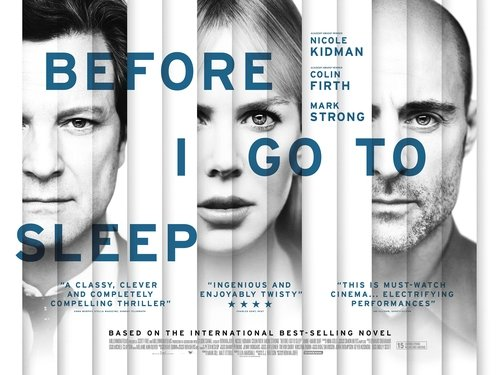 Before I Go to Sleep is in cinemas from Friday September 5