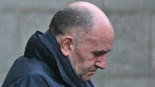 Michael McKevitt leaving Dublin's Supreme Court in 2008