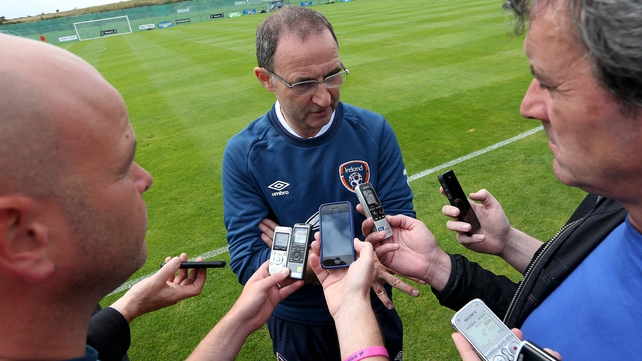 Martin O'Neill: 'I haven't picked the side yet. But again, players in the team who have done well shouldn't have to worry too much'