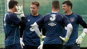 Goalkeepers Union? Has Shay Given's return affected the Ireland squad?
