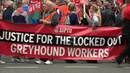 SIPTU will be balloting 78 Greyhound workers tomorrow on whether to accept an invitation to LRC talks