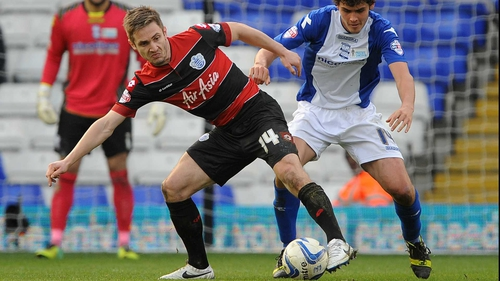 Kevin Doyle spent the second half of last season on loan at QPR