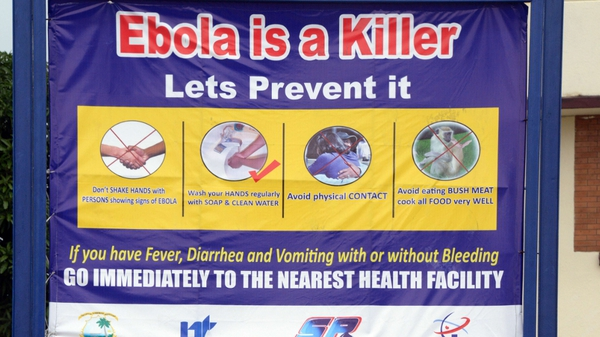 The Ebola outbreak in west Africa has left at least 1,841 people dead