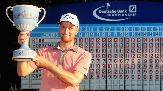 American Chris Kirk carded five birdies in a final-round 66