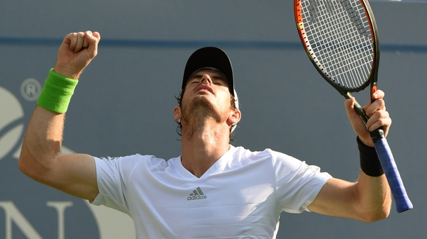 Andy Murray defeated ninth seed Wifried Tsonga in straight sets