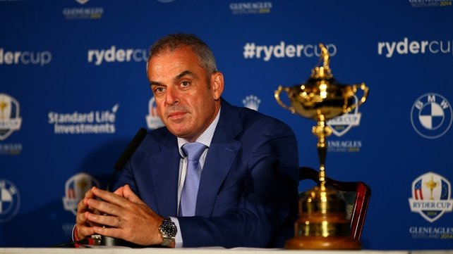 Paul McGinley now knows his 12-man team for Gleneagles