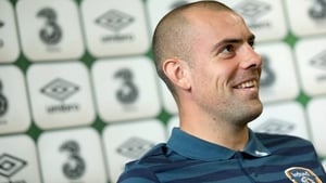 Darron Gibson is eager to take his chance for Ireland