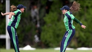 Cecelia Joyce (r) is in the squad, which is captained by her sister, Isobel (l)