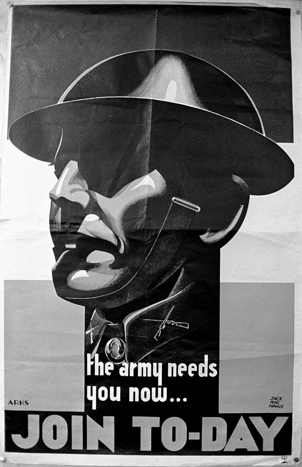 WW2 Army Recruitment Poster