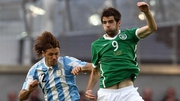 Cillian Sheridan played against Paraguay, Algeria and Argentina in 2010