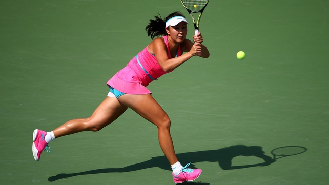 Peng Shuai blasted past Belinda Bencic at the US Open