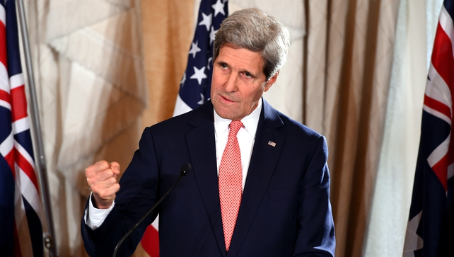 The talks are John Kerry's first face-to-face meeting with the Palestinians since late July