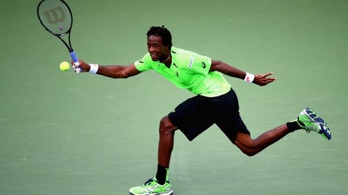 Gael Monfils is back to the US Open quarter-finals for the first time since 2010