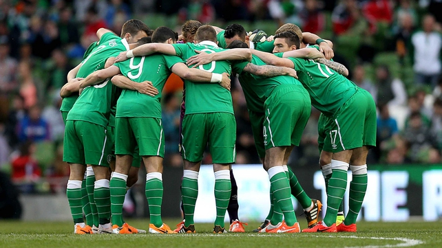 Ireland take on Oman on Wednesday evening