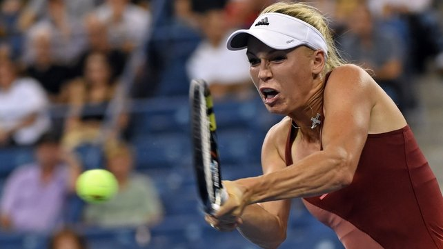 Caroline Wozniacki faces unseeded Peng Shuai in the semi-final