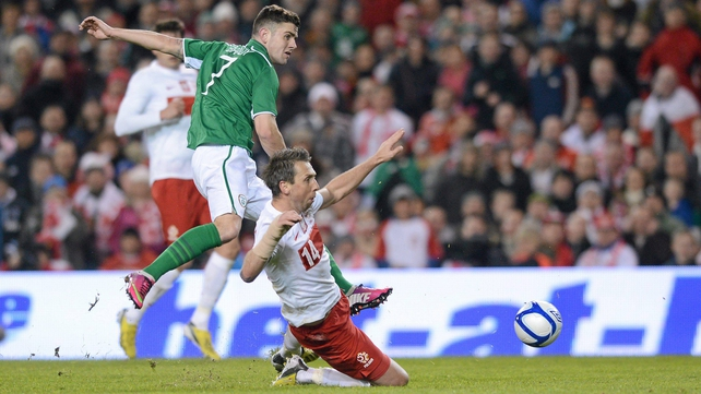 Robbie Brady hopes to feature against Oman and push his case for role in Georgia clash