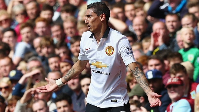 Angel Di Maria made British record £59.7million transfer to Man Utd