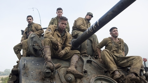 Fury is released on Wednesday October 22