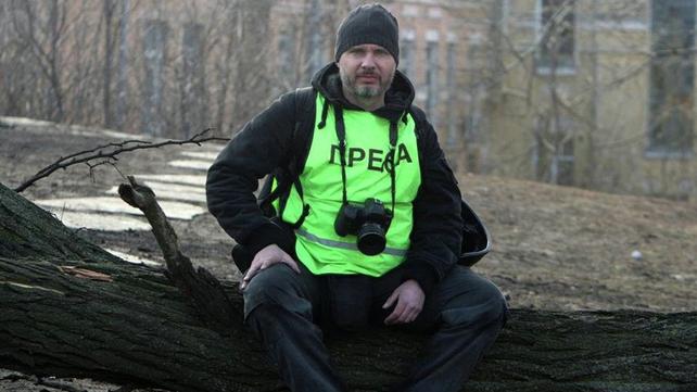 Undated file picture taken in Kiev of Andrei Stenin, who has been found dead in Ukraine