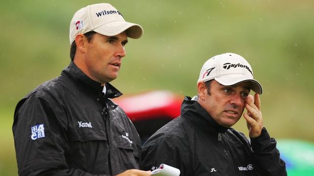 Pádraig Harrington joins up on Paul McGinley's backroom staff for Ryder Cup