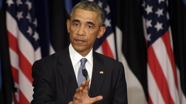 Barack Obama said the objective was to degrade and destroy Islamic State