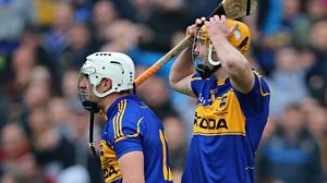 Tipperary's Patrick Maher and Seamus Callanan