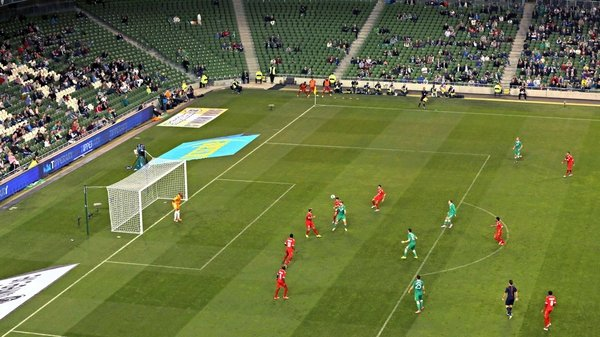 Ireland won 2-0 thanks to Kevin Doyle and Alex Pearce