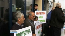 Farmers protest outside Taoiseach's office