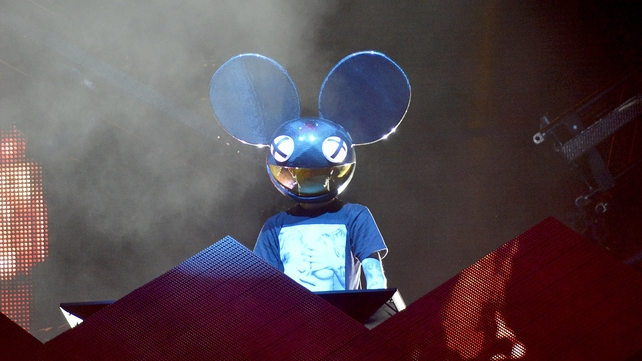 Deadmau5 performs live for fans in Brisbane, Australia