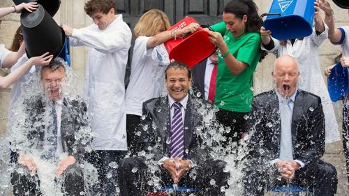 The Ice Bucket Challenge raised €1.6m in Ireland alone