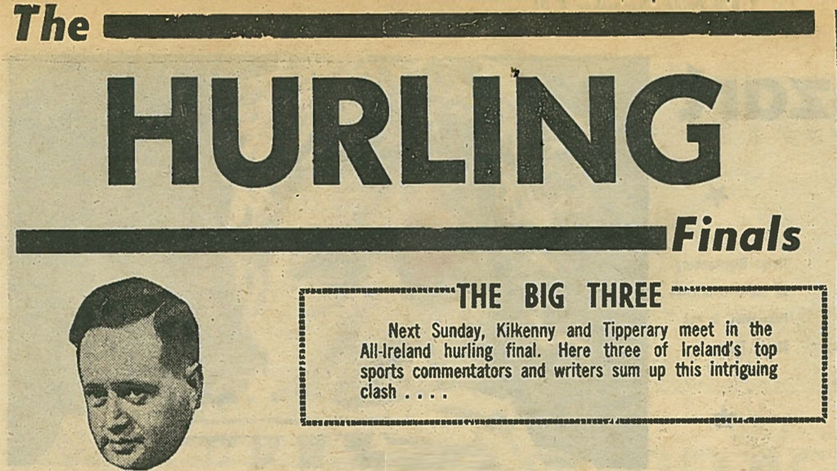 Looking forward to the 1964 All Ireland Hurling Final