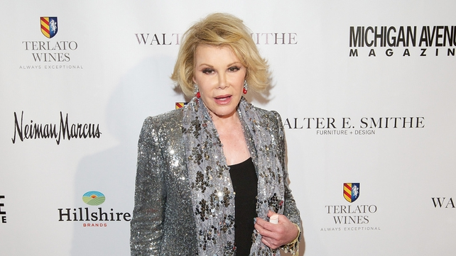 Joan Rivers was 81 years old