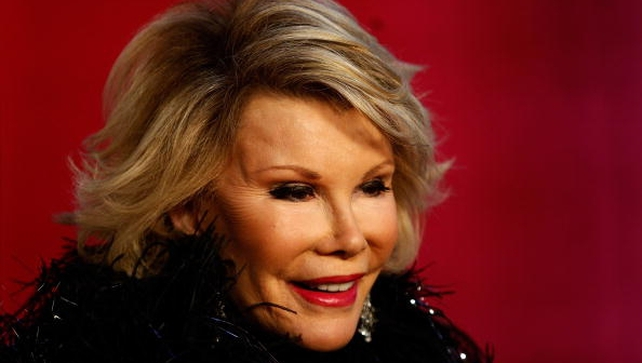 Joan Rivers died today a week after suffering a heart attack