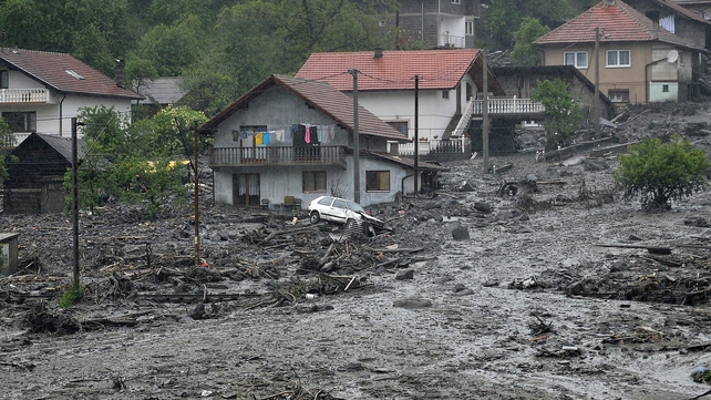 Quake area around Zenica had been recovering from severe floods that hit the region earlier this year