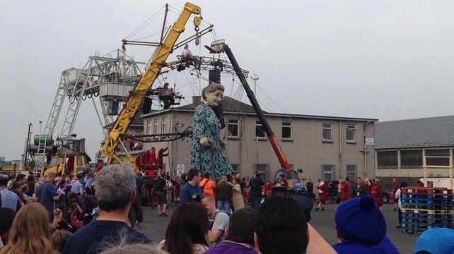 Limerick has been taken over by a giant granny