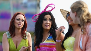 Racegoers were treated to wonderful weather at the County Meath venue