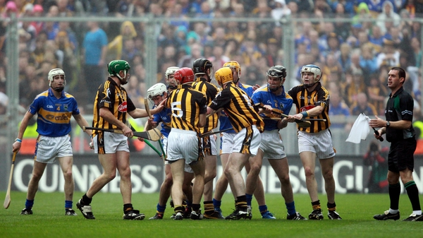 Action from the 2010 final when Tipp stopped Kilkenny in their five-in-a-row quest