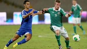 Chris Brunt has just one goal in 46 caps for Nothern Ireland