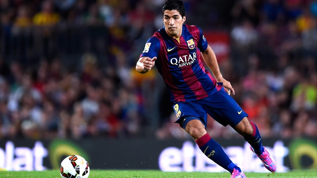 Luis Suarez made his Barcelona debut in a friendly in August
