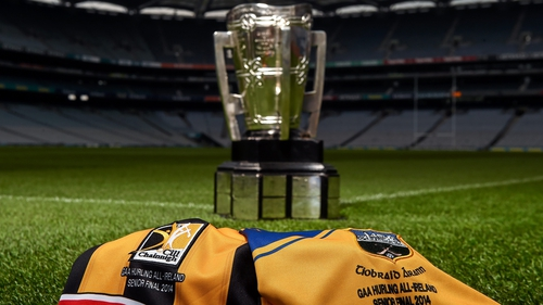 Which colour ribbons will be attached to Liam MacCarthy come Sunday evening?